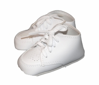 Boys Christening Shoes Faux Leather Baby Baptism Crib Shoe size 0