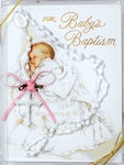 Girls Christening Rosary Baptism Keepsake