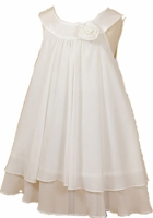 Christening Dress Fancy White or Ivory Toddler