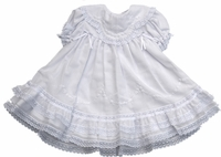 Girls Christening Dress Fancy Heirloom Fantasy Baptism Set