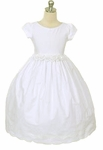 Toddler Girls Baptism Dress Cotton French Eyelet