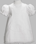 Girls Christening Dress Baby Smocked Traditional 6 months