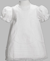 Girls Christening Dress Baby Smocked Traditional
