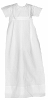 Boys Christening Gown Convertible Simple Lines Baptism Outfit 6 months