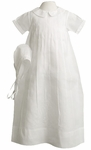 Boys Christening Gown Classic Smocked Style