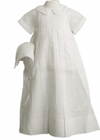 Boys Christening Gown Traditional Smocked Style