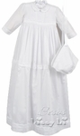 A Girls Christening Gown Convertible 100% Cotton 3 months