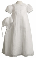 A Girls Christening Gown Heirloom Classic Set
