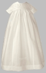 Unisex Christening Gowns Fine Silk Famliy Heirloom Baptism Set