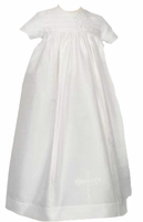 Christening Gown Unisex Silk Set Laura Ashley