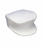 Boys Christening Hats White Formal Gabardine Baptism
