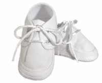 Boys Christening Shoes Baby Gabardine Infant Lace Oxford Bootie