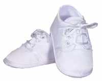 Boys Christening Shoes Baby White Satin Infant Oxford Bootie