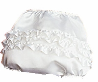 Christening Keepsake Ruffled Bottoms