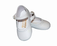 Girls Christening Shoes Baby Leather Baptism Crib Shoe