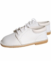 Boys Christening Shoes Formal White Leather Baptism Shoe