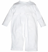 Unisex Christening Outfit Pima Cotton Longall 12-18 months