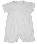 Boys Christening Outfit 100% Knit Cotton Baptism Set 3 months