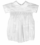 Boys Christening Outfits Baby Romper Smocked Baptism Bubble Newborn