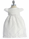 Christening Shantung Simple Dress