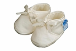 Boys Christening Shoes Baby Silk Oxford Infant Bootie size 1