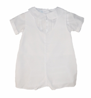 Boys Christening Outfits Shortall Infant Classic Baptism Romper