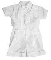 Boys Christening Outfits Formal Shortalls Vested Baptism Classic