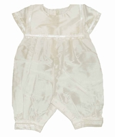 Boys Christening Outfit Silk Sailor Longalls 3/6 months
