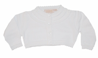 Girls Christening Sweater Bolero Cardigan