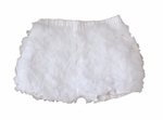 Christening White Ruffled Bloomers