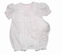 Girls Lamby Romper After Christening Outfit 9 months