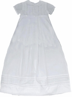 Boys Christening Gown Convertible Cross Bodice Baptism Outfit Set