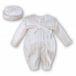 A Heirloom Silk Christening Outfit Set Euro 6-12 months