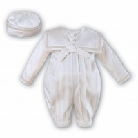 A Heirloom Silk Christening Outfit Longalls Light Ivory