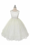 Ivory Princess Dress size 3T/4T