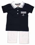 Dapper Nautical Boys 2 pc. Pant Set