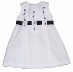 Nautical Sun Dress with Matching Hat 18 months