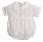 Newborn Christening Romper Bubble Boys