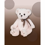 Christening Keepsake Plush Pink Cuddly Stuffed Bear Friend