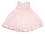 Girls Sarah Pink Simple Sundress