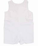 All White Boys Gabardine Shortalls