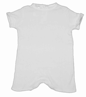 Boys Christening Outfit Baby Simple Infant Romper Baptism Shortall