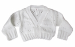 Sweet Christening Cardigan Sweater Unisex