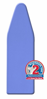 EasyFit™ Ironing Board Covers & Pads - Moderate-Use with Aluminized Coating & DoubleLoc™ Draw-Cord