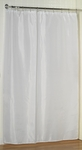 Jumbo-Long Fabric Shower Curtain Liners - Washable, Water Repellent, 100% Polyester