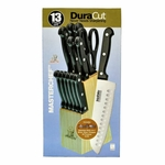 Knife Block Sets Wholesale - 13 pc - MasterChef ™ DuraCut