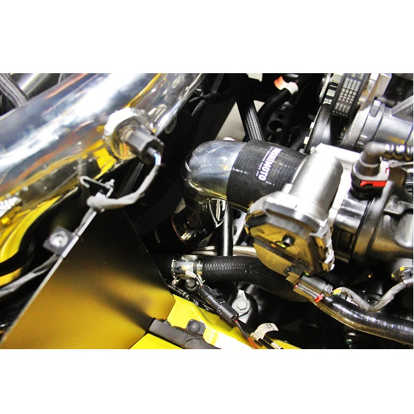 Mustang S550 Procharger Installation: Ford Mustang EcoBoost Cold-Side Intercooler Pipe Kit, 2015