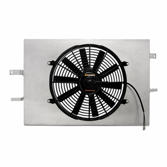 Ford Mustang Performance Aluminum Radiator Fan Shroud Kit, 1994-1996 - MMFS-MUS-94 - Mishimoto