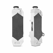 Honda CR85R Braced Aluminum Dirt Bike Radiator, 1997-2008