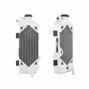 Honda CRF250R Braced Aluminum Dirt Bike Radiator, 2010-2013
